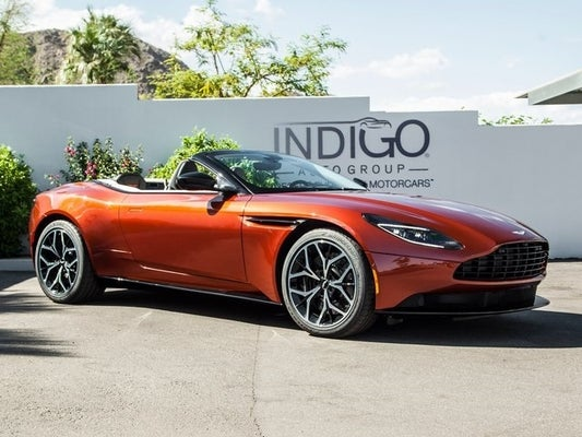 2019 Aston Martin Db11 Volante Rancho Mirage Ca Cathedral City Palm Desert Thousand Palms California Scfrmfcw4kgm06650