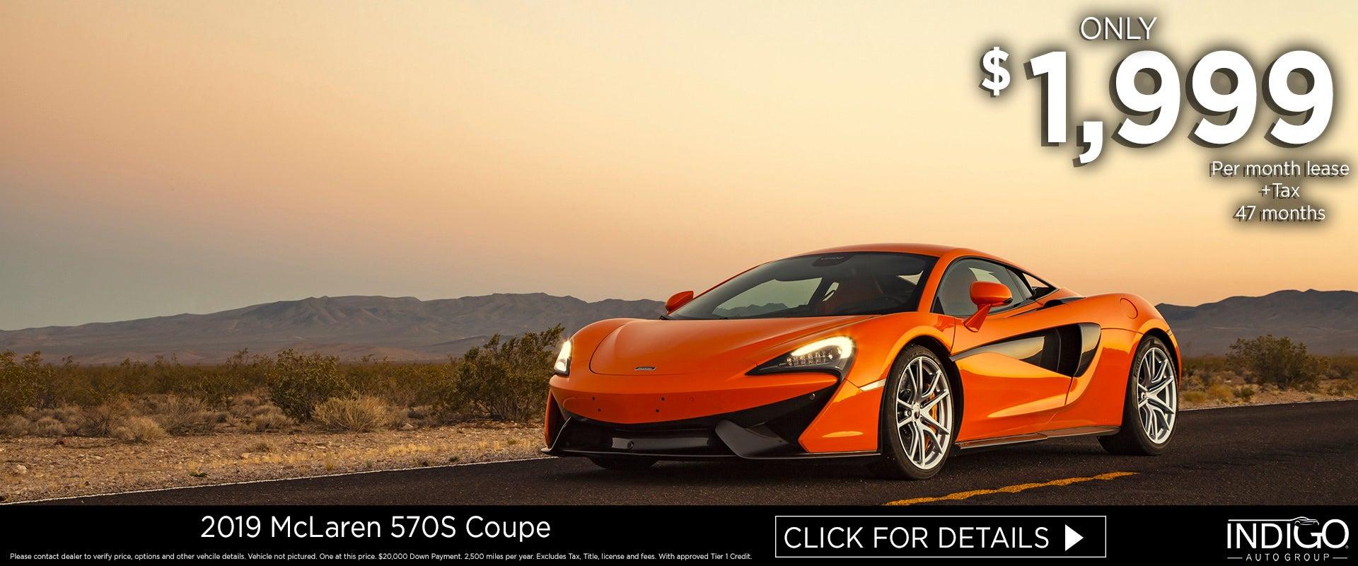 Mclaren 570s Coupe Rancho Mirage